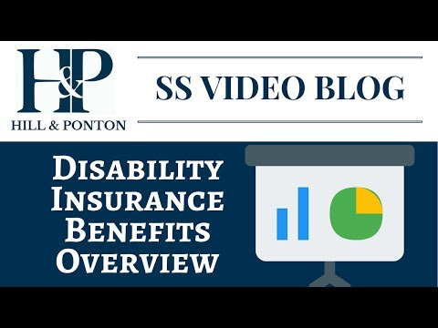 Disability Insurance Benefits Overview