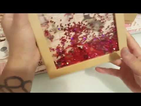Christmas shaker gift boxes