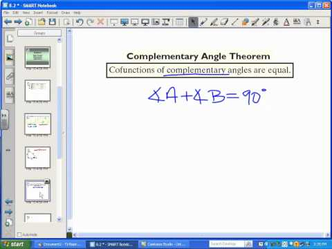 Basic Right Triangle Trig (Math Analysis - Part 1)