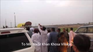 Sardar Zulfiqar Khan khosa at Mir Nadir khan Khoso