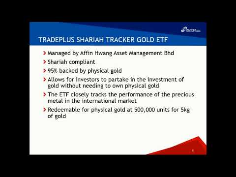 Investment Portfolio with Gold ETF