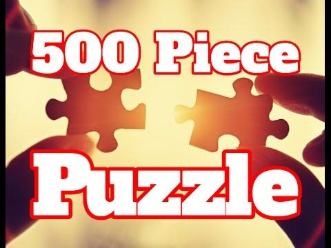 Making a 500 Piece Puzzle - How To Build 500 Piece Puzzle (Time Lapse)