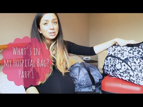 What's in my Hospital Bag PART 1 - Baby's Bag!