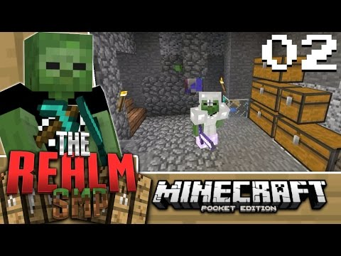 Minecraft PE Realms SMP Alpha E2 - SO MUCH WORK (MCPE 0.15.0 Multiplayer)