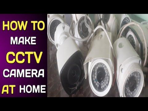 HOW TO MAKE HOMEMADE CCTV CAMERA||ASSEMBLE CCTV CAMERA WITH CCTV CAMERA ASSEMBLY PARTS
