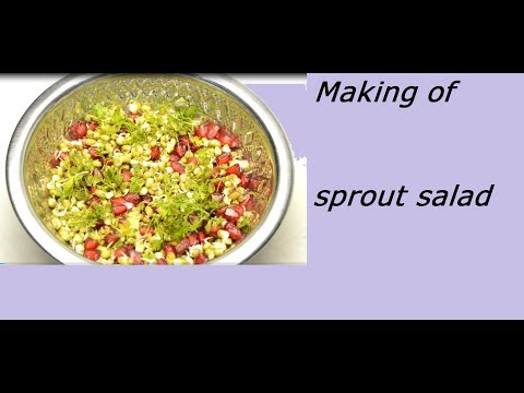 How to do Sprouts Salad