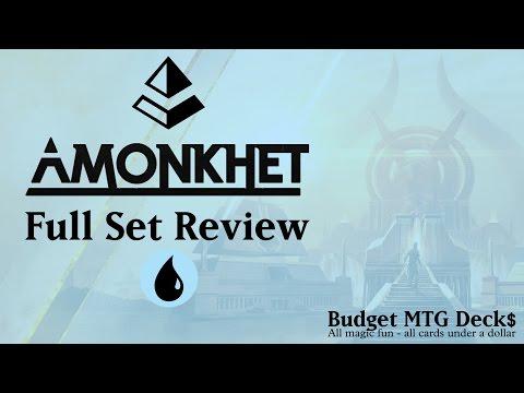 Amonkhet | Full Set Review | Blue