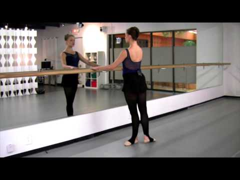 How To Do a Grand Battement in Arabesque, with Prima Ballerina, Jennifer Carlynn Kronenberg