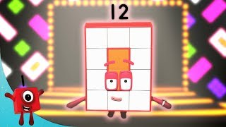 Numberblocks - Twelve Totally Awesome Fun Adventures! | Learn to Count | Learning Blocks