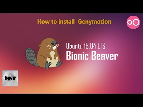 How to Install Genymotion on Ubuntu 18.04