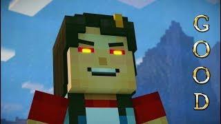 Minecraft Story Mode Season 2 - Episode 3 - Good Choices - Jesse is Friendly - Hippo Reddy