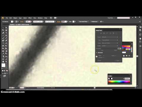 Create a logo in illustrator from a sketch