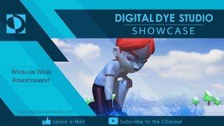 Digital Dye Studio Showcase | Woollen Wear Ad 03
