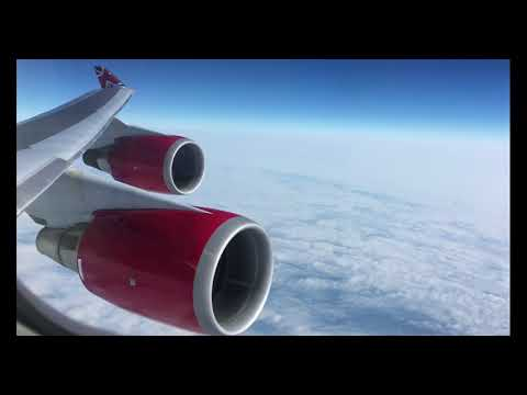Virgin Atlantic Gatwick to Orlando Flight