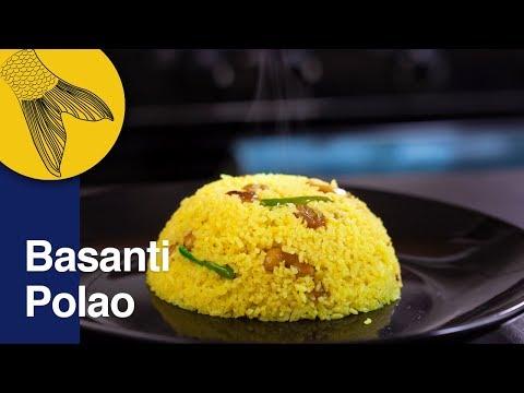 Polao Recipe—Basanti or Mishti Polao Ranna—Bengali Sweet Polao—Nababarsha Special Recipe