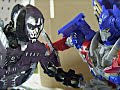 Transformers Age of Extinction Stop Motion: Optimus Prime and Bumblebee VS Lockdown-The Final Battle
