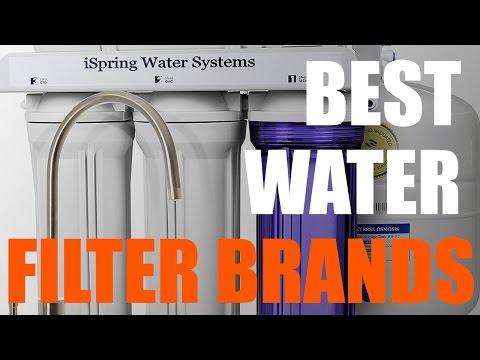 Best Water Filter Brands