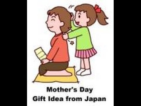 Mother's Day gift idea from Japan - Shoulder massage coupons - Massage Monday #184