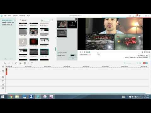 How to Use Split Screen,  Add Music & Voice Over | WonderShare Filmora