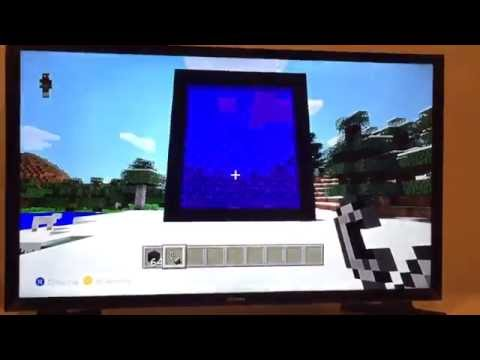 How to make a Giant Nether Portal on MineCraft