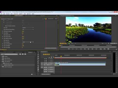 How to Create a Watercolor Effect in Adobe Premiere