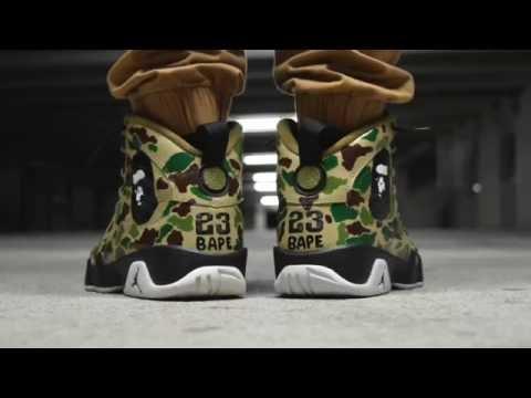 Bape Custom Jordans!