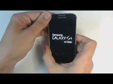 Samsung Galaxy S4 I9505 hard reset
