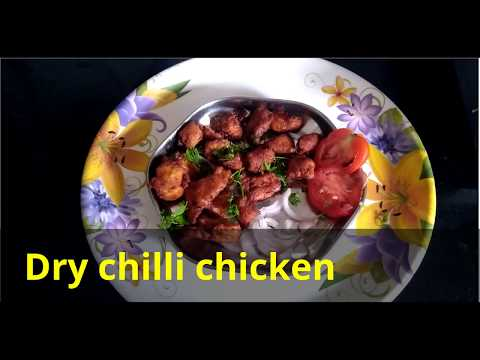 How to make simple dry chilli chicken (in Tamil)?