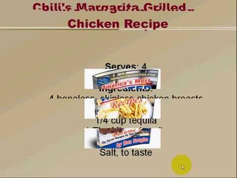 Recipe Central Free Recipe: Chili's Margarita Grilled Chicken