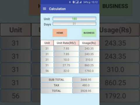 Srilanka Electricity Calculator