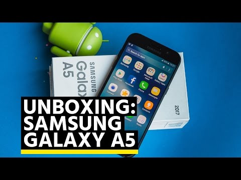 Unboxing: Samsung Galaxy A5 (2017)