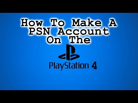 How To Create A New PSN Master Account On The PlayStation 4!