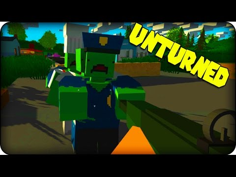 Unturned Gameplay - Zombie Survival Game - NEW WEAPONS !