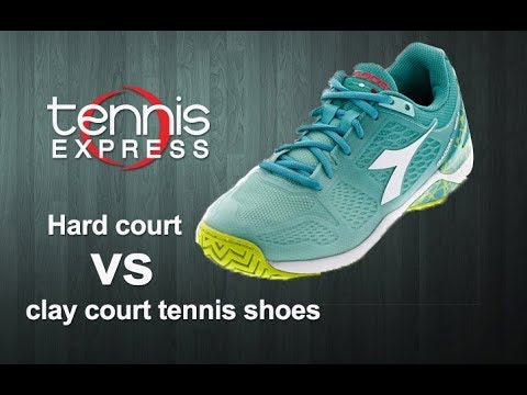 Hard Court vs Clay Court Tennis Shoes | Tennis Express