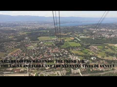 The MONT-SALÈVE Cable Car | Geneva | France | cable car ride | must visit