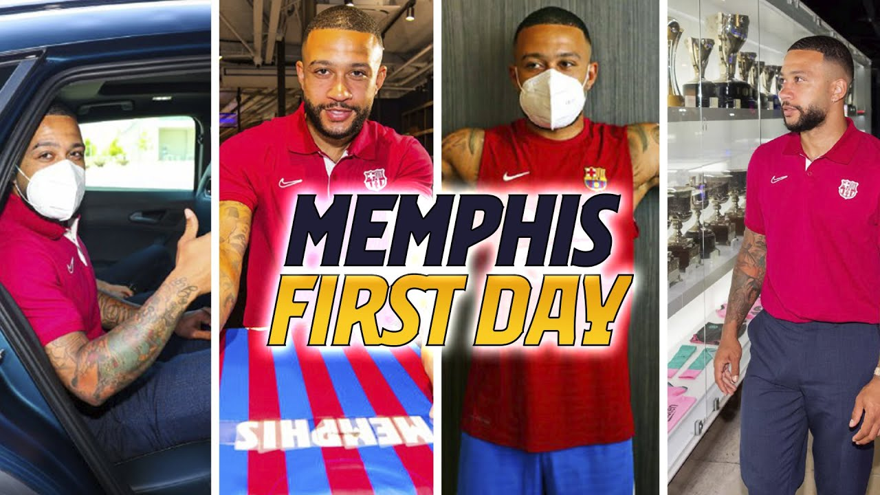 🦁 MEMPHIS DEPAY: HIS FIRST DAY AT BARÇA