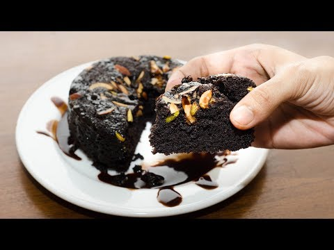EGGLESS CHOCOLATE BISCUITS CAKE l BLACK BOURBON CAKE l WITHOUT OVEN