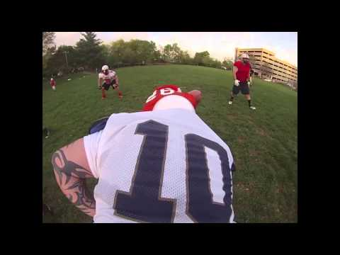Quarterback POV: Indiana Cutters semi-pro football