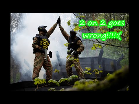2 on 2 goes wrong Tc paintball GEO 3 Game play