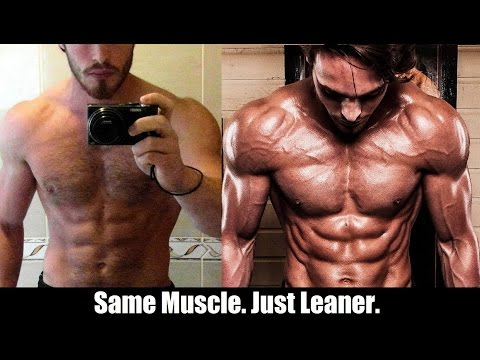 WHY GETTING REALLY LEAN CAN ACTUALLY MAKE YOU LOOK BIGGER (On Camera)