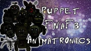 [ Speed Edit | FNAF ] Making Puppet Animatronics FNaF 3 - getplaypk
