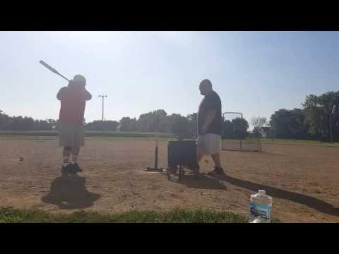 How I break in a new softball bat