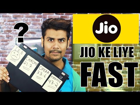 Surf Faster With Jio Internet | Best Browser For Jio Slow Speed | My Test Results