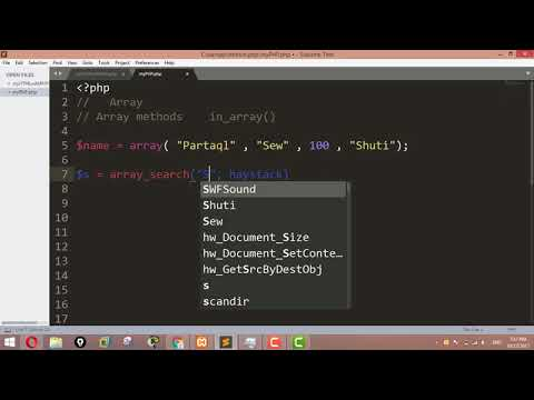 Searching an array for a given value in PHP - Array Search ,  Array Key Exists