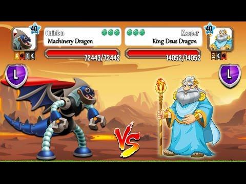 Dragon City - Random Fight | Part 69 [Full Combat & Skills 2017]