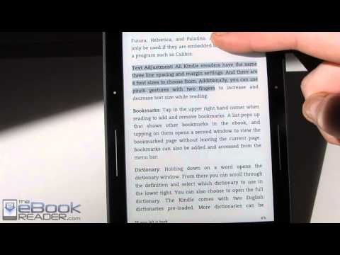 Kindle Voyage Tips and Tricks Tutorial