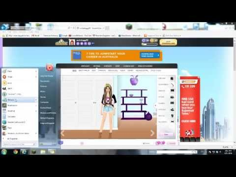 how to get free items on stardoll (simple way)