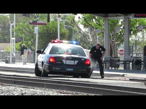 LAPD stuck on the railroad tracks