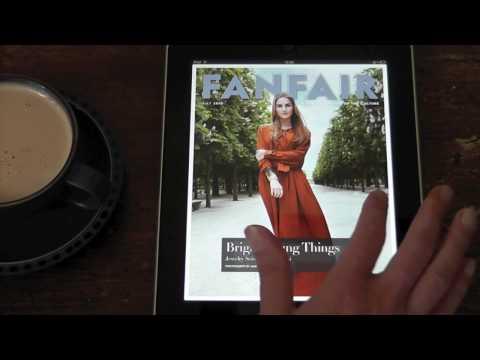 Vanity Fair iPad App