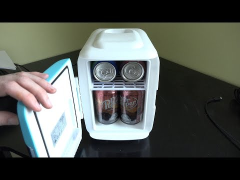 Cooluli Mini Fridge Video Unboxing and Review!